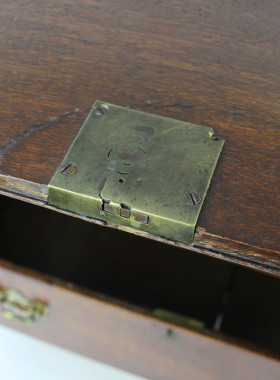 Georgian Oak Bureau
