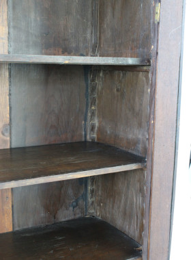 Victorian Walnut Bookcase