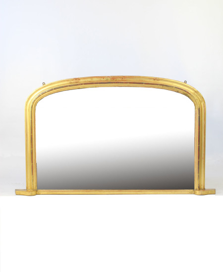 Victorian Gilt Overmantle Mirror