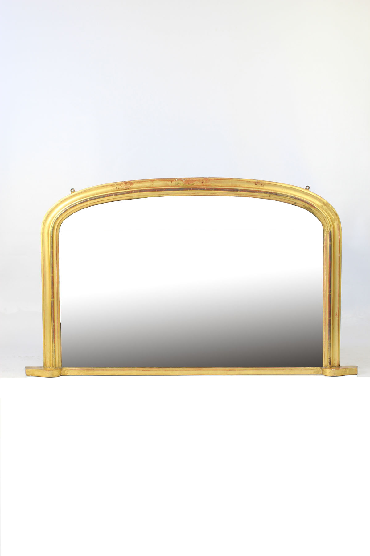 victorian arched top gilt overmantle mirror. Black Bedroom Furniture Sets. Home Design Ideas