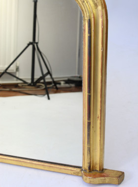 Victorian Gilt Overmantle Mirror