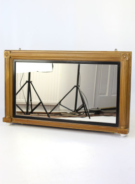 Victorian Overmantle Mirror