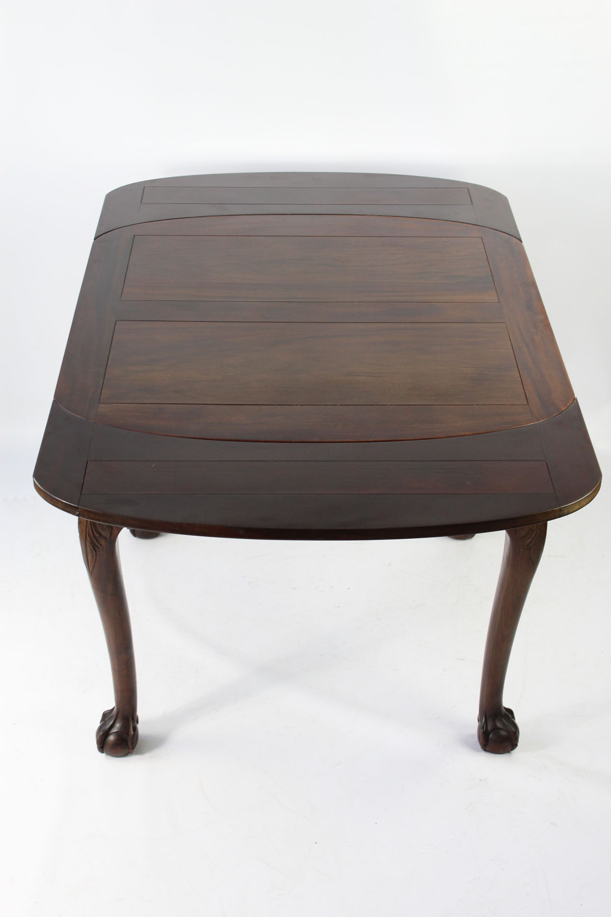 Extending Draw Leaf Dining Table Circa 1920s
