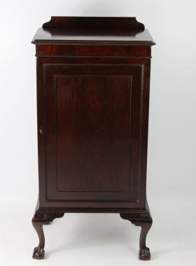 Large Edwardian Mahogany Cupboard