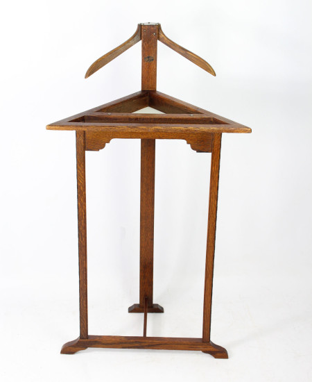 Art Deco Corner Suit Stand