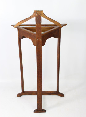 Art Deco Corner Suit Stand