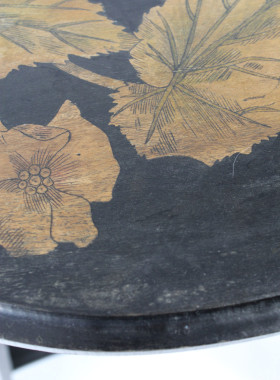 Arts and Crafts Ebonised Side Table