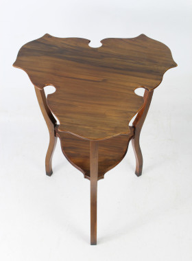 Arts and Crafts Walnut Side Table