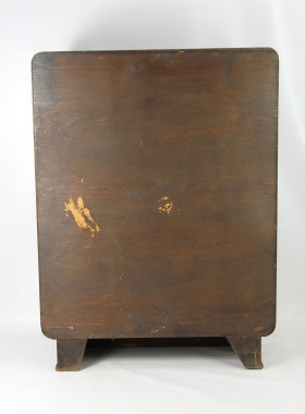 Art Deco Walnut Cabinet