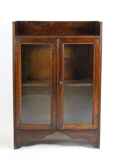 Small 1920s Oak Bookcase