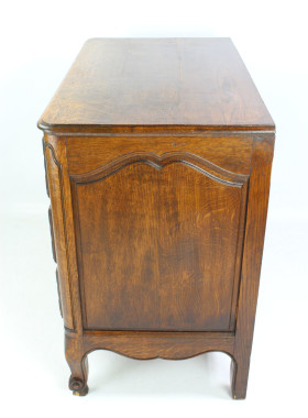 Vintage French Oak Chest Drawers