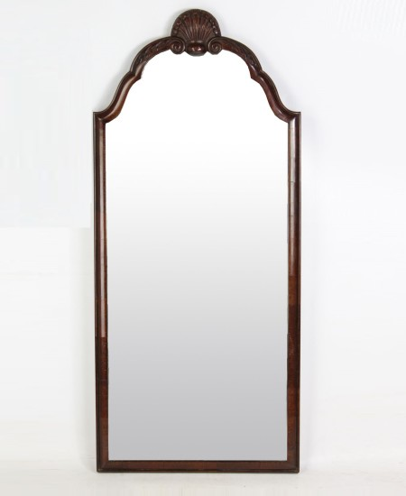 1920s Mahogany Wall Mirror