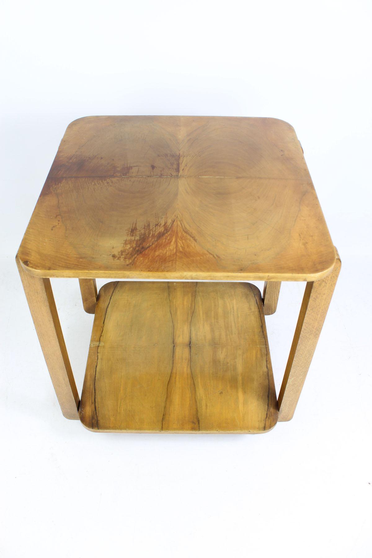 Small Art Deco Tea Trolley Coffee Table