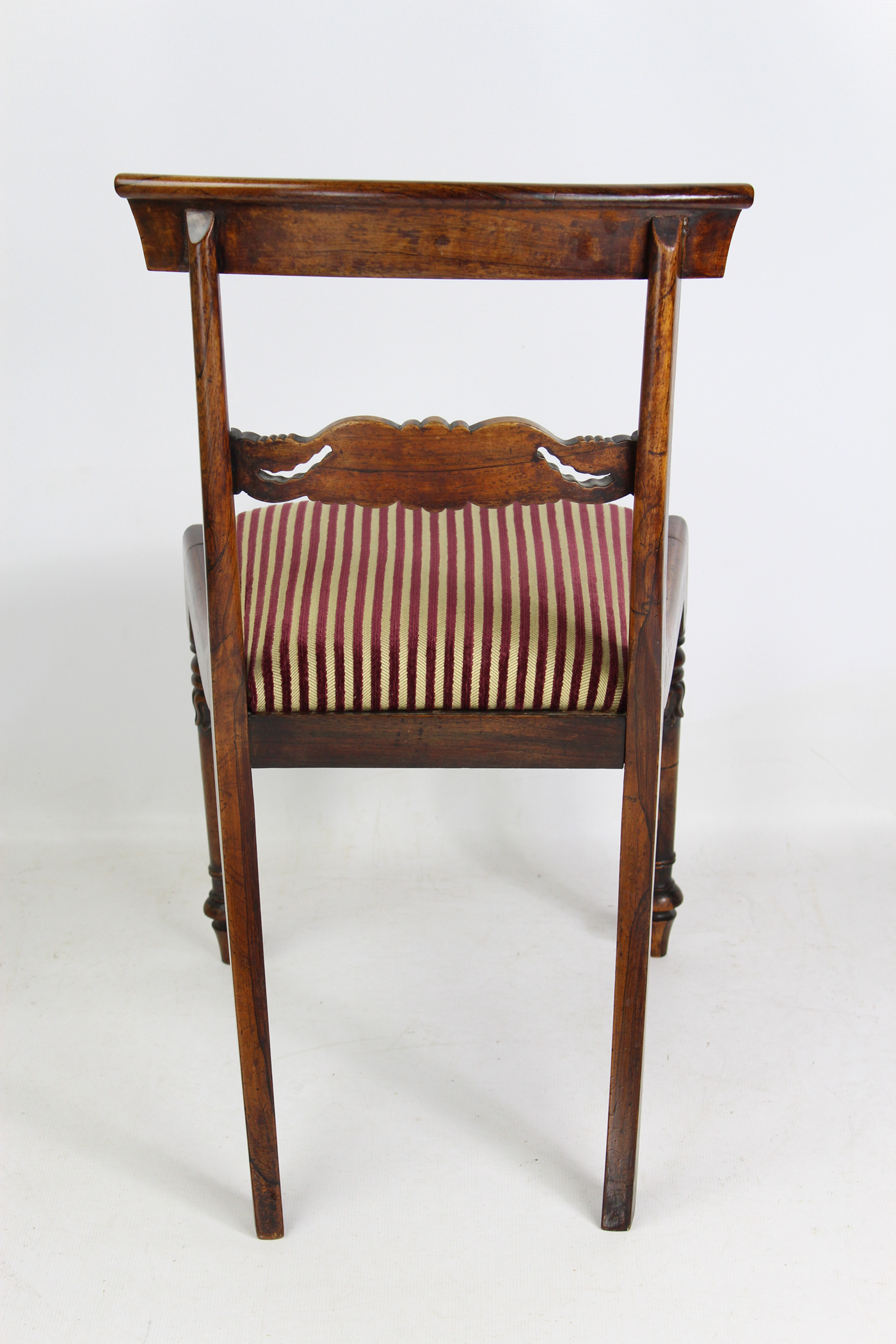 official photos 8399c 892b3 Set 4 Antique William IV Rosewood Dining Chairs In The Manner Of Gillows
