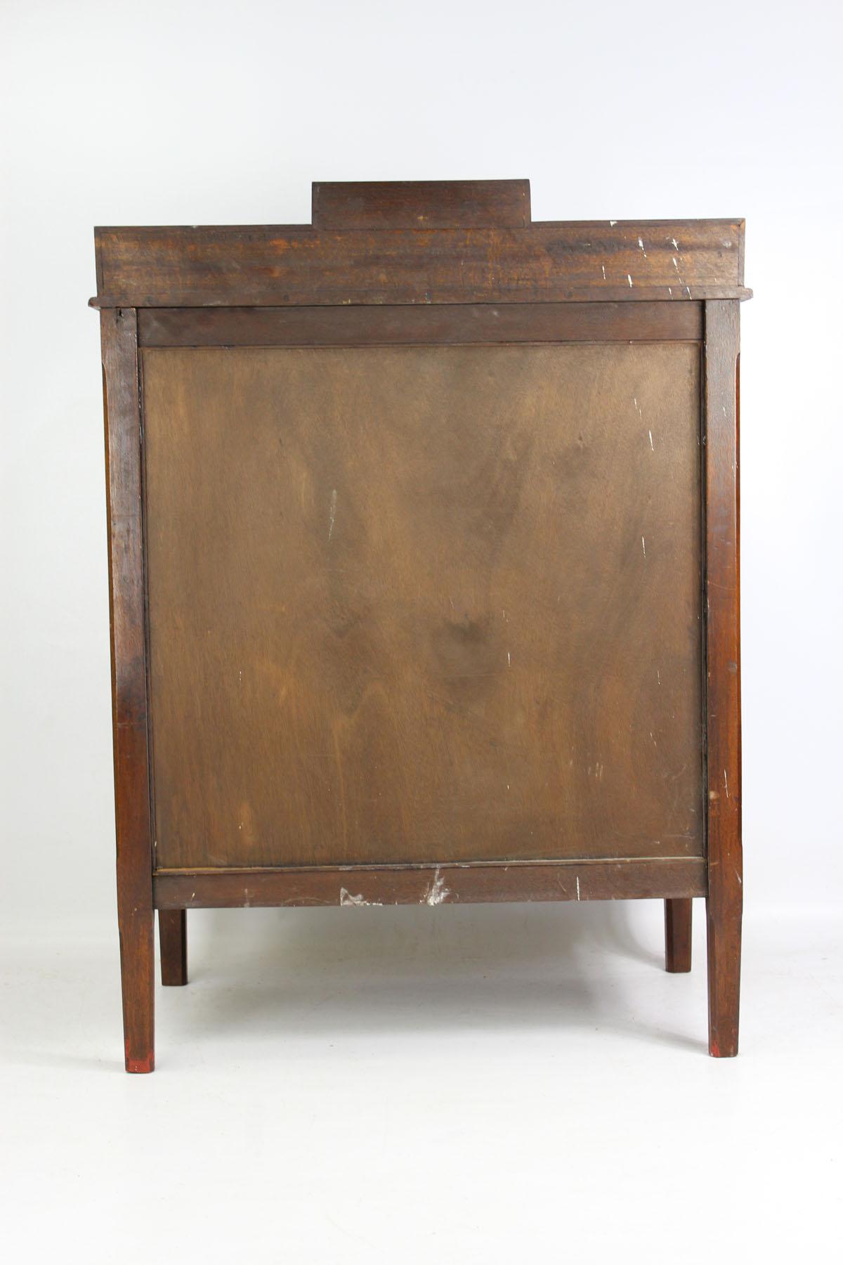 Art Deco Bookcase Side Cabinet