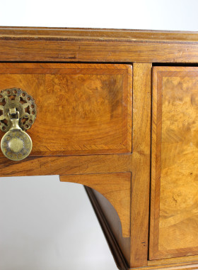 Vintage Walnut Desk with Liberty Label