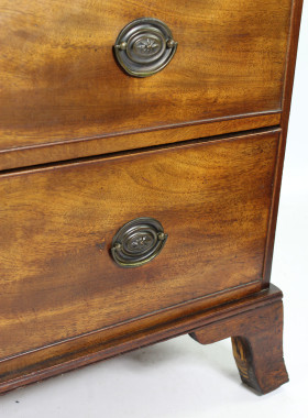 Antique Mahogany Chest Drawers