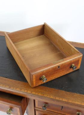 Edwardian Mahogany Inlaid Desk