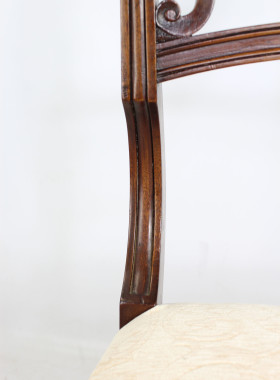 Antique Regency Mahogany Chair