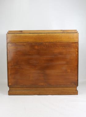 Art Deco Oak Ottoman