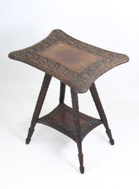 Carved Anglo Indian Table