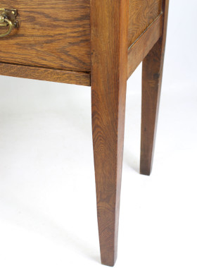 Edwardian Oak Chest Drawers