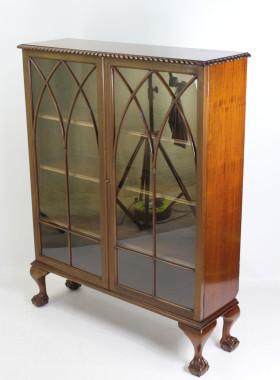 Vintage Mahogany Bookcase