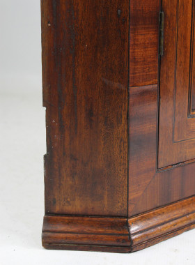 Georgian Mahogany Corner Cupboard