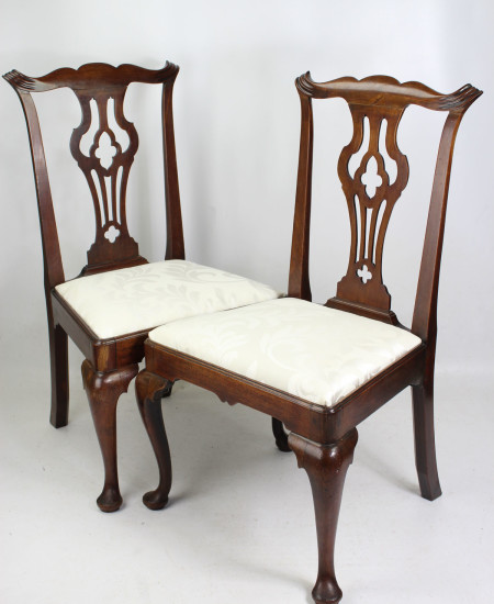 Pair Georgian Mahogany Chairs