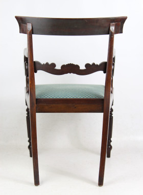 Victorian Mahogany Desk Chair
