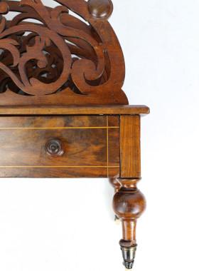 Victorian Walnut Canterbury