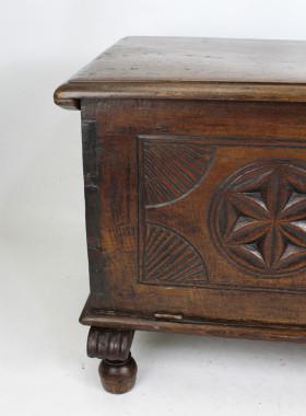 Antique Oak Coffer