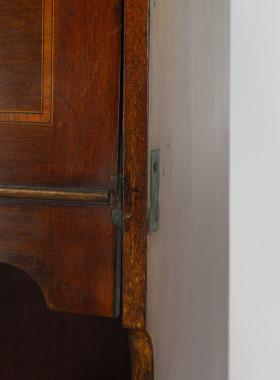 Slim Edwardian Mahogany Hall Bureau