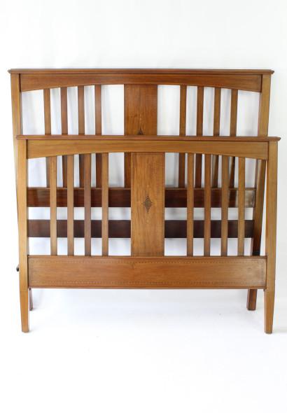 IMG_0263Antique Edwardian Mahogany Double Bed £450