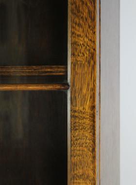 Small Oak Bureau Bookcase
