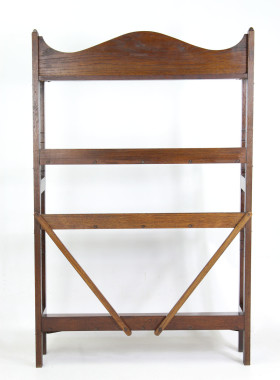 Edwardian Heals Oak Open Bookcase