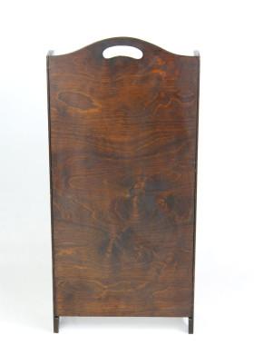 Art Deco Oak Book Trough