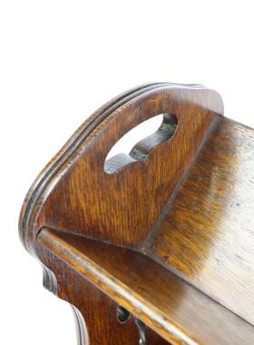 Antique Arts Crafts Book Trough