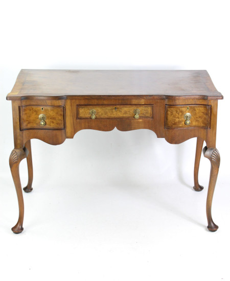 Art Deco Walnut Desk Circa 1920s