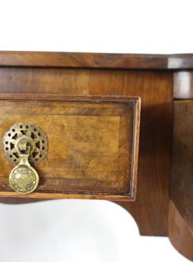 Art Deco Walnut Desk Circa 1920s