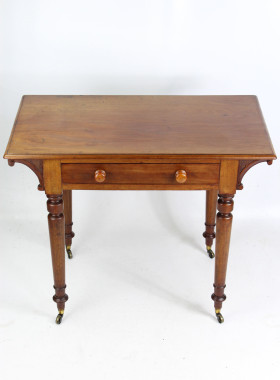 Small Victorian Mahogany Writing Table