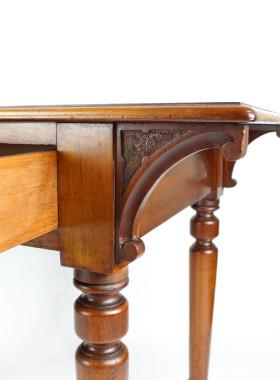 Small Victorian Mahogany Writing Table
