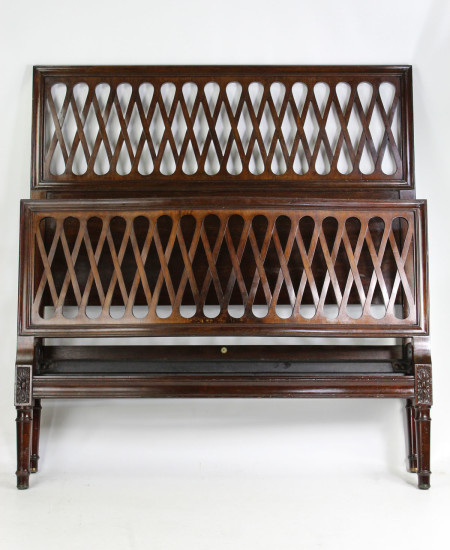 Edwardian Heals Small Double Bed