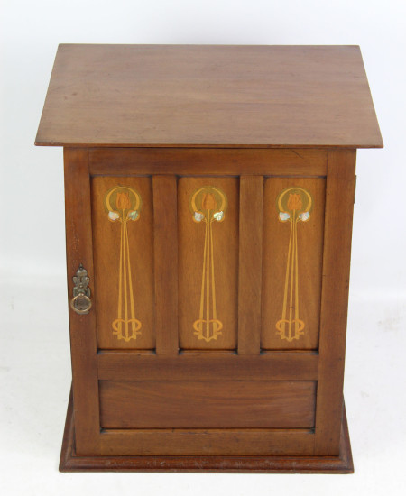 Edwardian Arts And Crafts Filing Cabinet