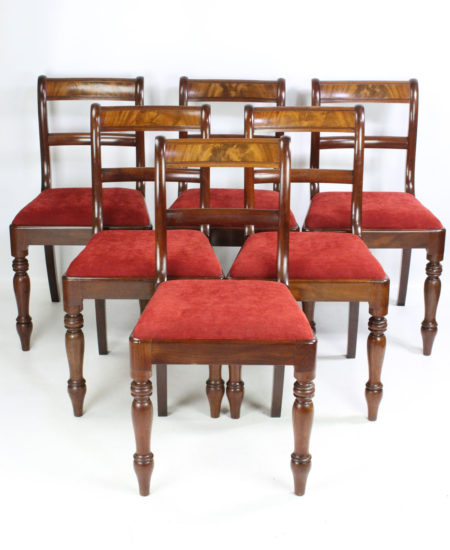 Set 6 Regency Dining Chairs