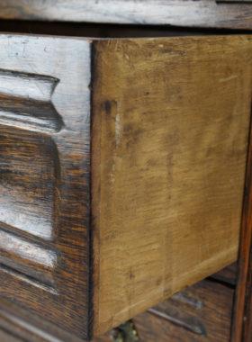 Vintage Oak Bureau