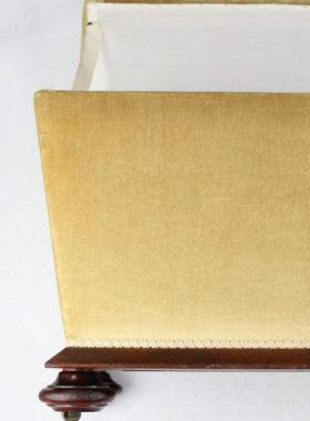 Victorian Upholstered Ottoman