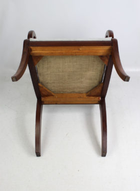 Antique Regency Mahogany Desk Chair