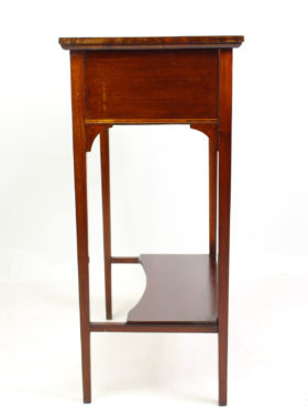 Edwardian Inlaid Mahogany Side Table