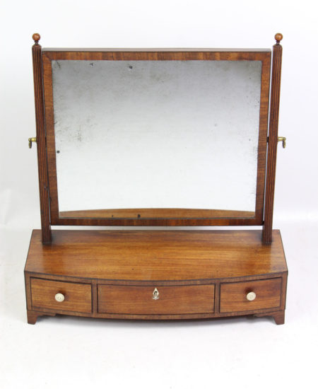 Regency Mahogany Toilet Mirror